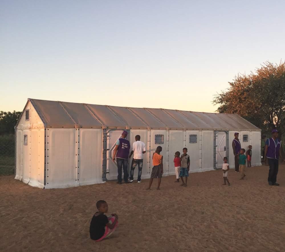 Abrigos para refugiados têm o melhor design do ano