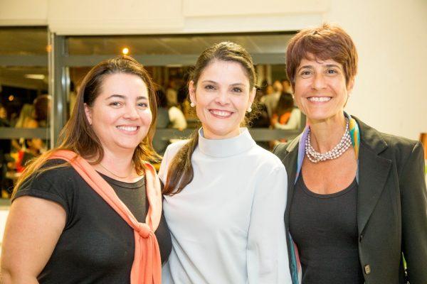 (Ana Brum, Andréa Sorgenfrei e Ana Claudia Cunha Barbosa) Fotos: Hugo Harada/Gazeta do Povo