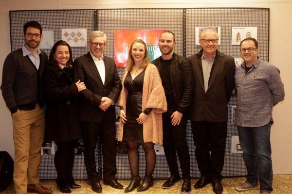 Jurados e Diretores Luxion: Thiago Gaya, Ana Brum, Celso Tissot, Fernanda Tissot, Vinicius Siega, Antônio Carlos Mingrone e Roque Frizzo.