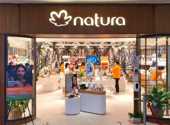 NATURA welcome table